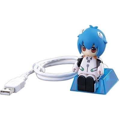 バッファロー 〈スワッターズ〉 キャラクタ USBメモリ 綾波レイモデル 2GB