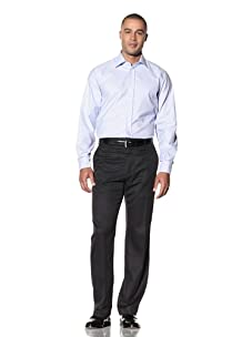 Yves Saint Laurent Men's Stafford Italian Collar Dress Shirt (Light Blue)