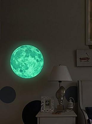 Ambiance Sticker Wandtattoo Fluorescent Real Moon