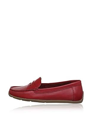 Clarks Mocasines Hammond Way (Rojo)