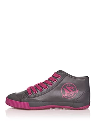 Shulong Zapatillas Shulook High (Gris / Fucsia)