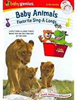 Baby Genius® Baby Animals Favorite Sing-A-Longs (DVD & Bonus CD)