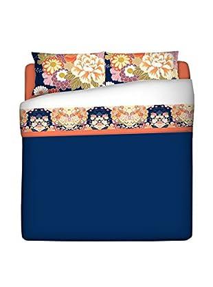 JAPAN MANIA by MANIFATTURE COTONIERE Betttuch und Kissenbezug Kimono