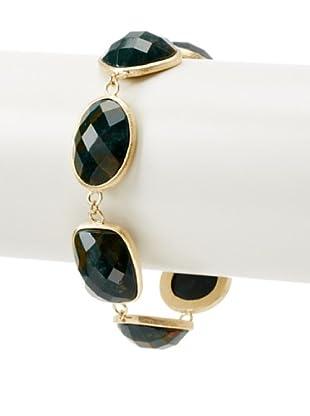 Rivka Friedman Indian Agate Link Bracelet
