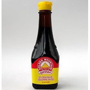 【クリックで詳細表示】ゴールデンマウンテン シーズニングソース100ml/瓶【家庭用】タイたまり醤油