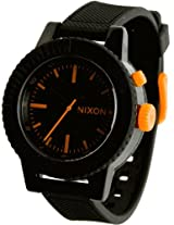 Nixon Gogo Black And Orange Ladies Watch A287583