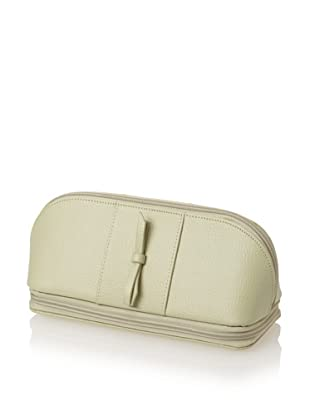 Morelle & Co. Rachel Leather Cosmetic/Jewelry Case (Green)