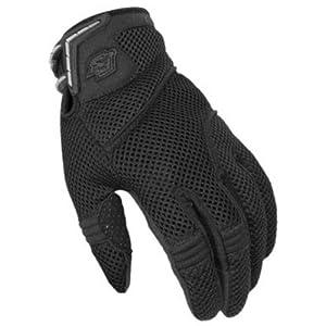Fieldsheer Mens TI Air Mesh 2.0 Motorcycle Gloves Black XXXL 3XL