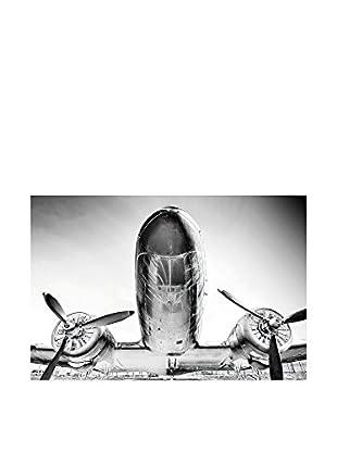 Especial Deco Vertical Wandbild Plane