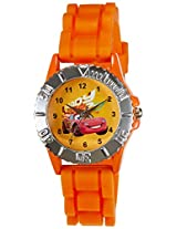 Disney Analog Multi-Color Dial Boys's Watch - LP-1002 (Orange)