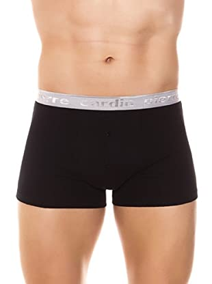 Pierre Cardin Pack 6 Boxer Rayas (Negro)