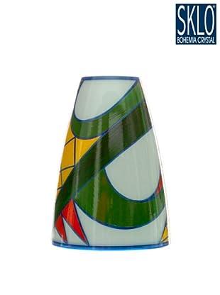 Cristal de Bohemia Florero Aztec H 24 Cm