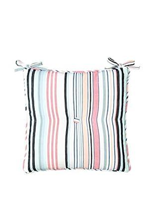 Lene Bjerre Abelia Seat Cushion, White/Multi