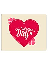 Lovely Collection Happy Valentines Day Wishes Mousepad
