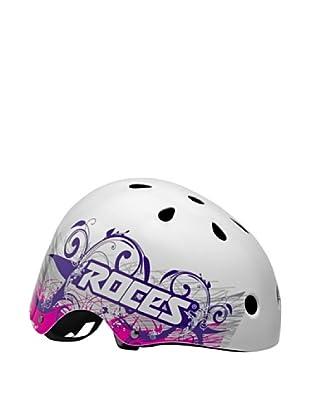 Roces Casco Tattoo Aggr (Blanco / Violeta)