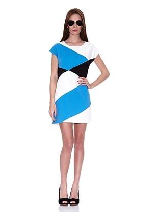 HHG Vestido Demi (Negro / Blanco / Azul)