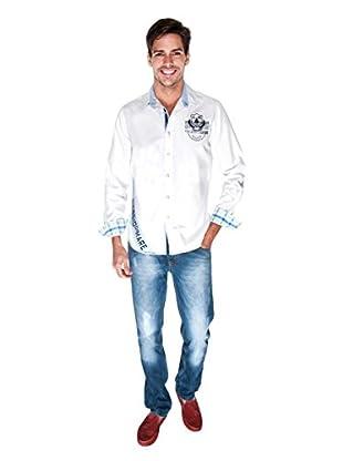 Giorgio Di Mare Camisa Worked Gunnar (Blanco)