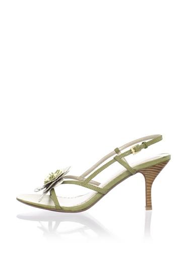 Adrienne Vittadini Women's Sunshine Sandal (Green)
