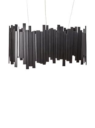 Innermost Clinker Lozenge Pendant, Black