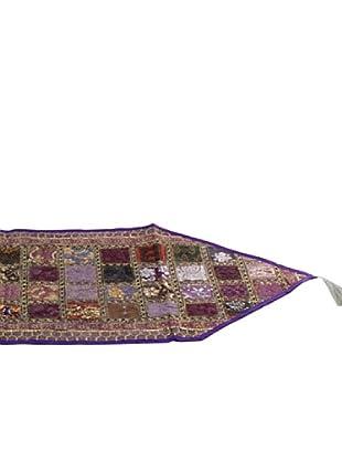 SIGNES DECORA Camino de Mesa  Púrpura 40X150
