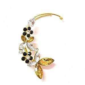 Daamak Jewellery Ear Cuff Embellished With Cz Ear Cuff