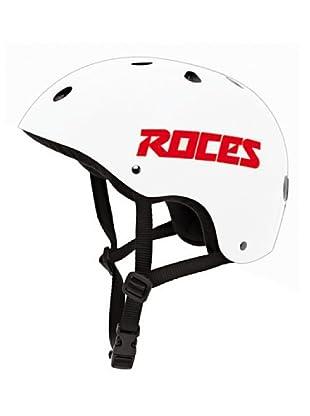 Roces Casco Ce Aggressive (Blanco)