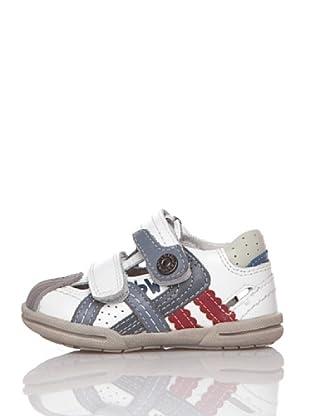 Billowy Zapatos Velcros (Blanco)