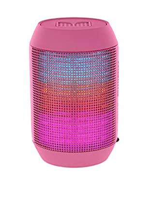 iPM Pump It Up LED Light Up Bluetooth Speaker, Pink