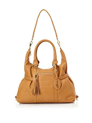 The Bumble Collection Honey Satchel (Camel)