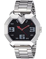Fastrack Black Dial Men's Analog Watch - 3129SM02