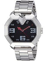 Fastrack Black Dial Men's Analog Watch - 3129SM02