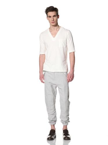 Camo Men's Cerreto C.lo V-Neck T Shirt (Cream)