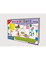 10 IN 1 SCIENCE TOYS SET