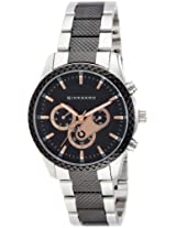 Giordano Analog Black Dial Men's Watch - 1517-33