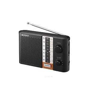 Sony ICF-F12S/CE Radio-Black