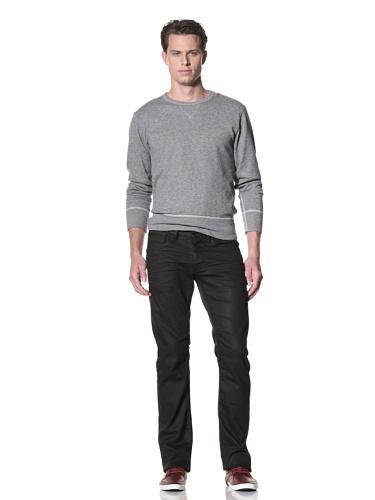Dylan George Men's Victor Straight Leg Coated Jeans (Mackay Brown)
