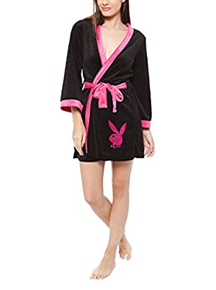 Play Boy Nightwear Morgenmantel Cute Kimono Cozy Nights