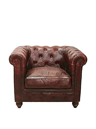 Chesterfield Club Chair, French Roast