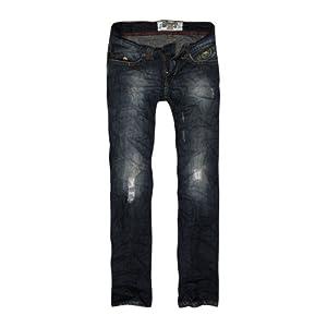 BASICS Casual Denim Boot Cut Men's Jeans-Blue