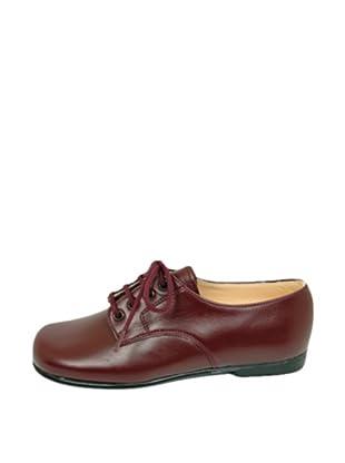 Za-patitos Zapatos Cordones (Burdeos)