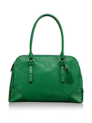 TUMI Villa Verona Double Zip Satchel, Kelly Green