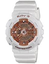 Casio Baby-G Analog-Digital White Dial Women's Watch - BA-110-7A1DR (BX016)