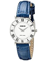 Jowissa Women's J2.011.S Roma Colori 24 mm Blue Leather Roman Numeral Watch