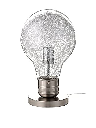 Contemporary Lighting Lámpara De Mesa Light Bulb Gris