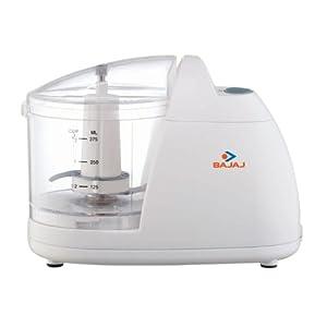 Bajaj Hand Blender Presto Veg Chopper-White