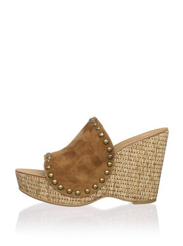 Ash Women's Paprika Wedge Sandal (Camel)