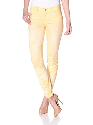 Henry & Belle Women's Ideal Ankle Skinny Seashell Jean (Tie Dye)