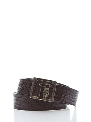 Trussardi Cinturón Vintage Trussardi (marrón)