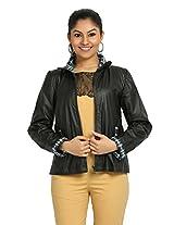 Fbbic Women's Jacket (16144_X-Small_Black)