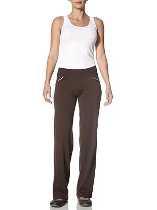 New Balance Yoga Women's Bootcut Yoga Pants (Coffee)